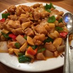 龍祥軒 - 鶏肉とカシューナッツ炒め