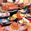 札幌かに家 - 料理写真:ズワイかにしゃぶしゃぶコース「知床」