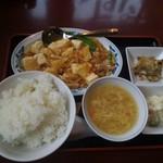 80263694 - 日替わりランチ(肉豆腐)