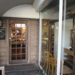 パ・ドゥ・ドゥ洋菓子店 - 入口