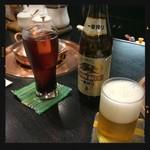 しゃぶしゃぶ すきやき くりりん - ビール&カシス