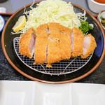 とんかつ川久 - 上黒豚ロース定食