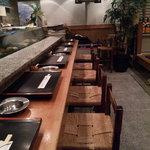 並木ジャンボ - 店内①(カウンター席)