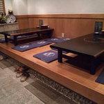 寿司 ジャンボ並木 - 店内②(小上がりの座敷)