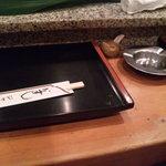 寿司 ジャンボ並木 - 備品①