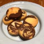 マールカフェ - サービス?のクッキー