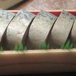 大村寿司平野屋 - 料理写真:五島の鯖寿司