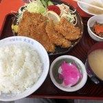 80272369 - チキンカツ定食¥850