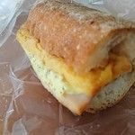 スクラッチベーカリーYOU - 厚焼き玉子とベーコンのバゲット