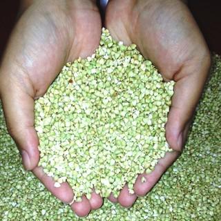 厳選された国産のそばの実を店内で自家製粉しております