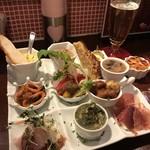 イタリア食堂 il cuore - コース料理の前菜盛り合わせ