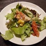 80274167 - 旬野菜の棒々鶏サラダ(取り分け)