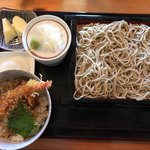 かしわ木 - 料理写真:ランチセットB¥1180