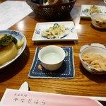 やなぎはら - 2017/12/15  塩辛、お酒旨し〜〜
