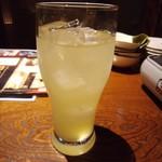 いもんちゅ 母屋 - 泡盛シークワーサー・540円