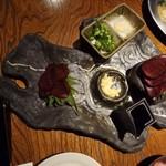 いもんちゅ 母屋 - 九州形な皿