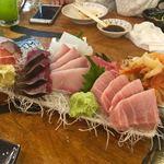 タカマル鮮魚店 - ▪︎特上刺し盛り ¥3,980 8種類くらいのネタがどっさり。 すっごい量。頼み過ぎ要注意です。