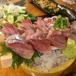 タカマル鮮魚店 - ▪︎高知県産 真あじの刺身 ¥780