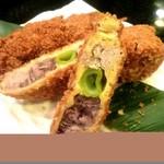 東京駅 居酒屋 ひょっとこ - 本マグロの串カツはまるでお肉、築地マグロ老舗店より直仕入れだから出来る!