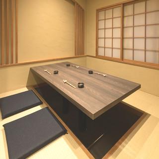 上質な【完全個室】をご用意しております。