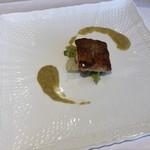 ソーサリート - タラのポワレ 白菜のソース