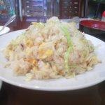 8028510 - 野菜玉子にんにく味チャーハン大盛り