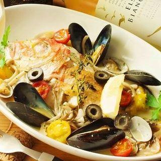 魚介の旨みたっぷり♪日替わりのお魚料理