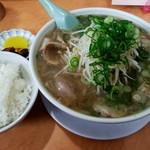 ラーメン藤 - 料理写真:ラーメン定食 ラーメン大
