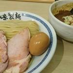 心の味製麺 - カレーつけ麺・麺少な目 780円