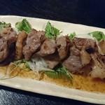 でべそ - イベリコ豚の塩焼き