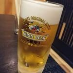 でべそ - 生ビール
