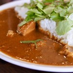 SpicyCafe anise - バターチキンカレーアップ