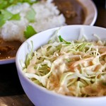 SpicyCafe anise - カレーはサラダ付き