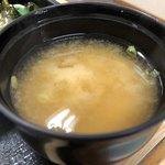 まるけん - しじみのお味噌汁