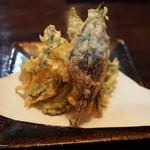 沖縄料理 琉球 - 天ぷら盛り合わせ(島野菜数種)