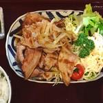 80285604 - 豚肉の生姜焼き ごはんセット(1,130円)