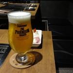 スリーバント - 生ビール