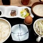 仙臺たんや 利久  - 玉子かけご飯定食:702円