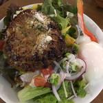 TOWER'S DINER - 野菜たっぷりのロコモコ丼の大盛