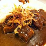 フローレット - ポーク角煮カレー(アップ)