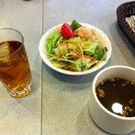 フローレット - サラダとスープ