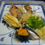 福寿司 - 特上にぎり2520円
