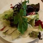 アズーリ - ランチのサラダ