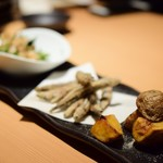 日本酒と炭火 度感 -