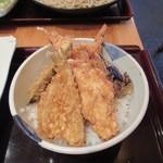 蕎麦遊膳 花吉辰 - 海老小天丼