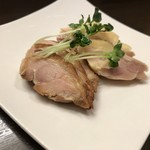 菜香餃子房 - 鳥肉の塩漬け