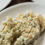 暴走熟成肉庫 肉アバンギャルド - 2018.2 ポテトサラダ 自家製ブルーチーズソース(378円)