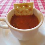 グランド・セントラル・オイスターバー&レストラン - 濃厚なトマトのクラムチャウダー