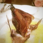 トラットリア・バッフォ - 鯛のカマ香草窯焼き