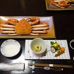 城崎温泉 但馬屋 - 料理写真:夕食:テーブルセッティング